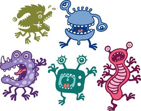 extraterrestres: Monstruos