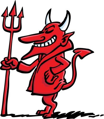 bocinas: Diablo Vectores