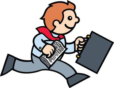 busy person: Empresario de ejecuci�n