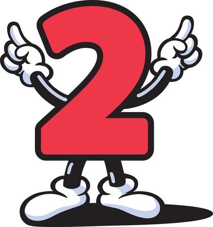 cartoon numbers: N�mero de Guy