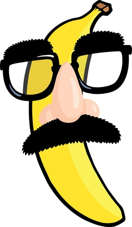 banaan cartoon: Vermommen