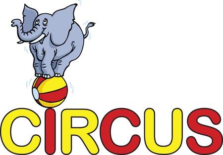 Circus Word Vector