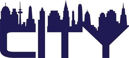 City Stock Vector - 9721724