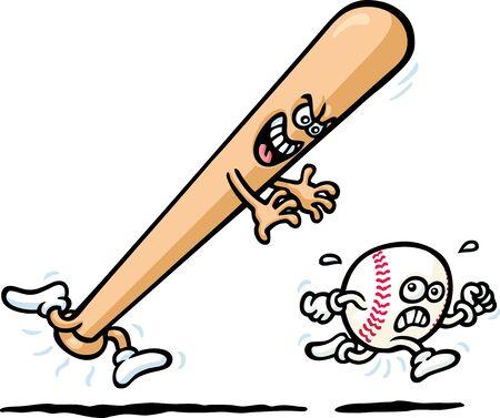 wooden leg: Crazy Baseball