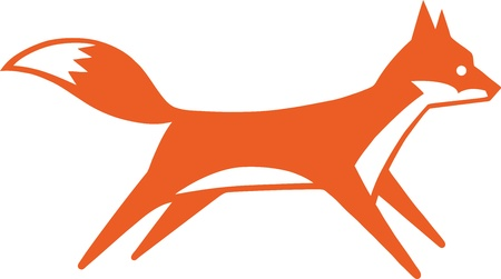 fox face: Fox r�pido