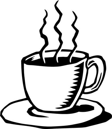 xilografia: Copa del café