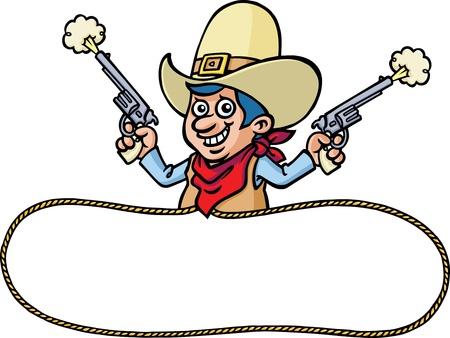 Cowboy Stock Vector - 9884458