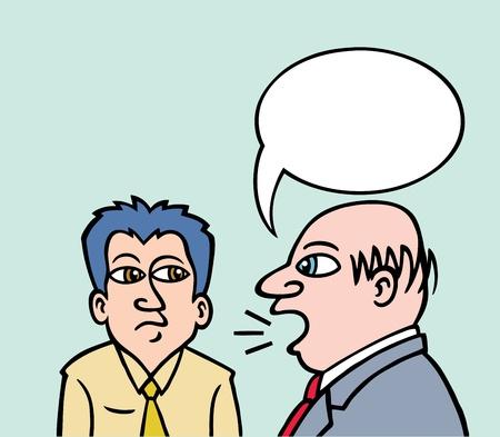 Business Talk Vector