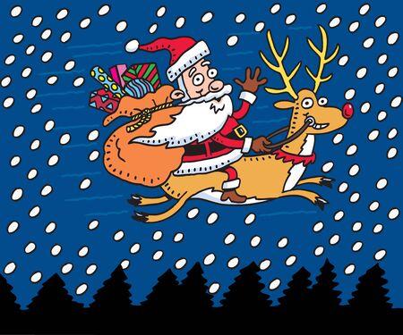 father christmas: Santa