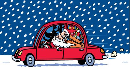 winter car: Santa