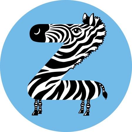 Zebra Stock Vector - 10257148