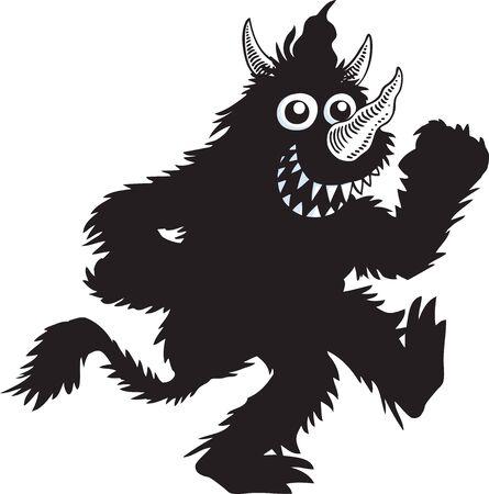 tanzen cartoon: Monster