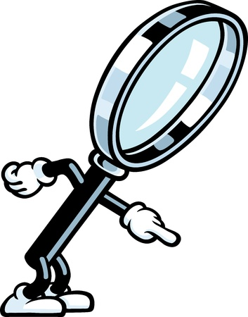 detect: Magnifying Glass Guy