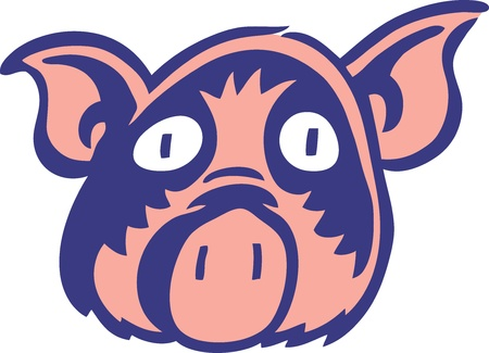 Pig Stock Vector - 11221817