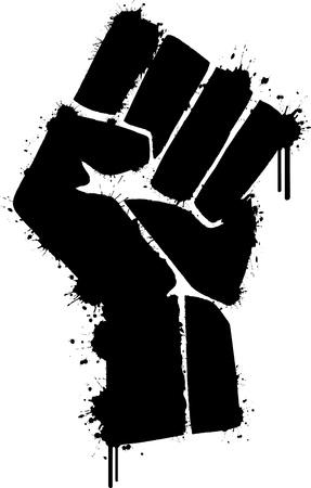 pu�os cerrados: Viva la mano