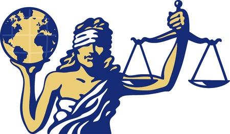 estatua de la justicia: Justicia