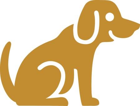 veterinarian: Hond Stock Illustratie