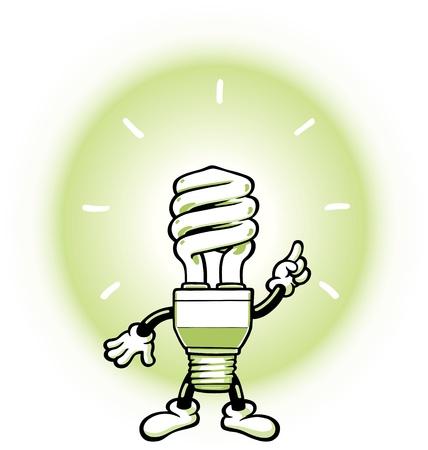 green light bulb: Light Bulb