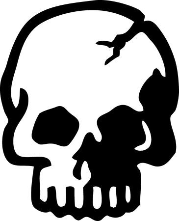 Skull Stock Vector - 14080474