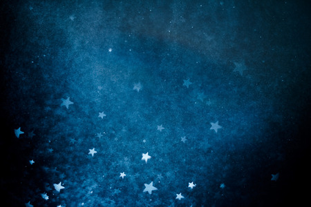 blue christmas background: Abstract bokeh backgroundAbstract bokeh background Stock Photo