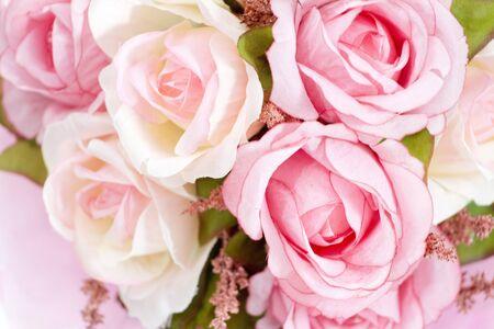 multicolored: A bouquet of multicolored roses.