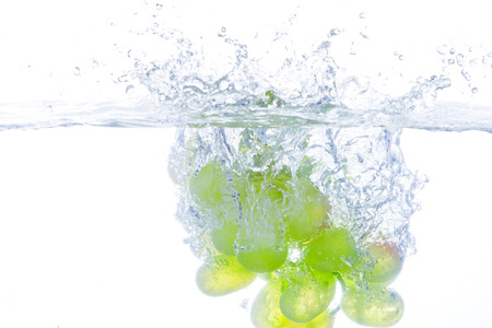 no way out: Green Grapes, Splashing in Water.