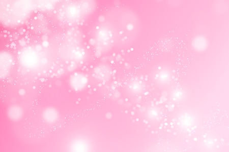 pink background: Abstract bokeh Pink background. Stock Photo