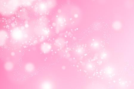 Zusammenfassung Bokeh Rosa Hintergrund. Standard-Bild
