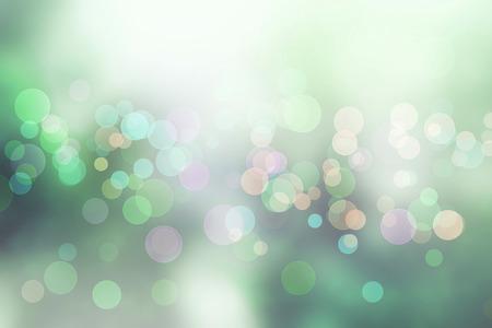 Bokeh verde bosque de la primavera Natural de mi idea. Foto de archivo - 55067456