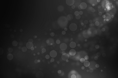 Black and White from my idea of soft bokeh abstract background