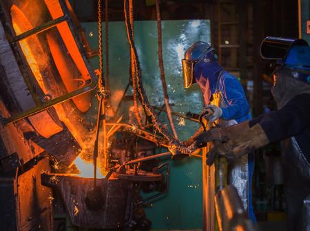 matallurgic の生産、鉄、溶融金属の生産