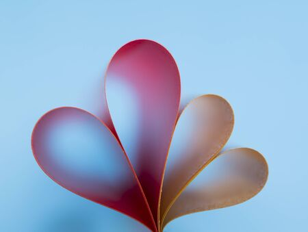 gradient background: heart on gradient background Stock Photo