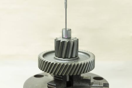 programing: inspection automotive gear dimension by CMM measuring machine