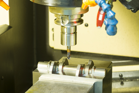 processing speed: CNC machining center cutting mold by endmill cad cam