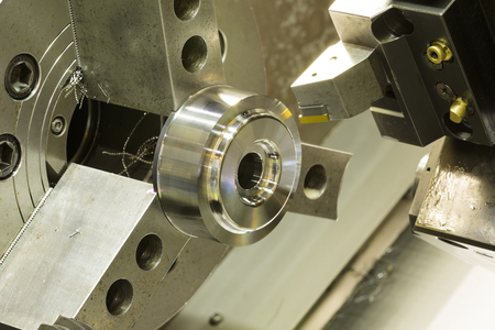 precision: CNC lathe machining high precision automotive part