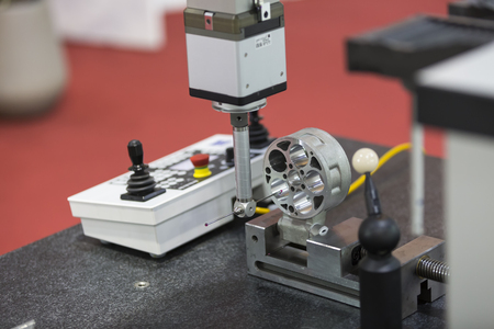 precision: Inspection high precision part by CMM