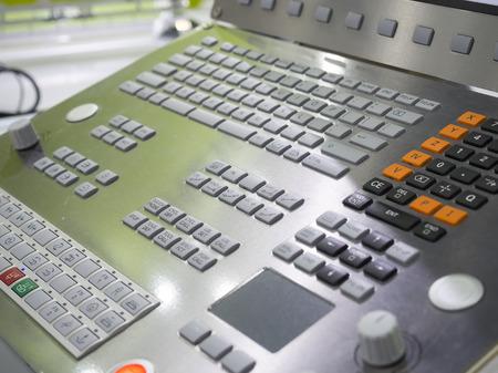 end mill: CNC Machine control panel