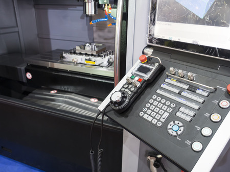 automated tooling: CNC Machine control panel