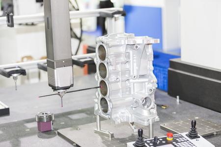 dimension: inspection automotive part dimension by CMM measuring machine