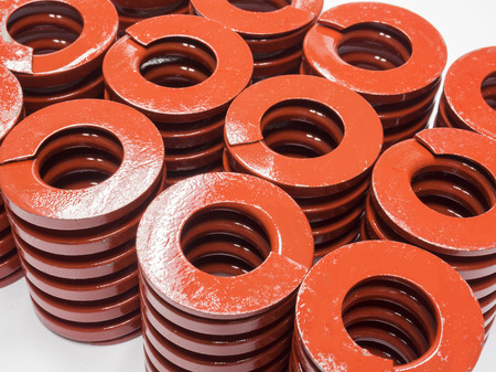 metal spring: High strength coil metal spring for mold and die
