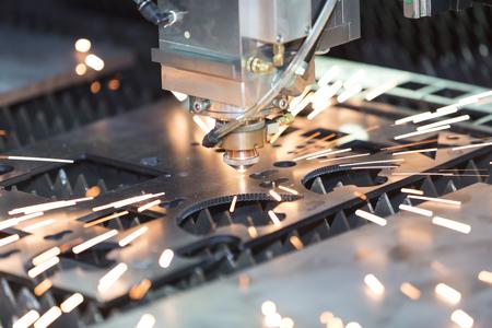 High precision CNC gas cutting metal sheet