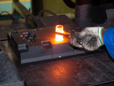 high precision hot forging product, automotive part production by hot forging process, automatice line hot forging