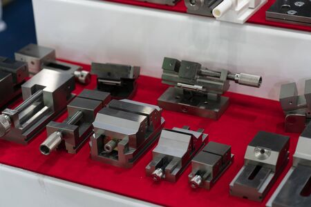high precision vise for high accuracy machining of jig, fixture, die and mold. 写真素材