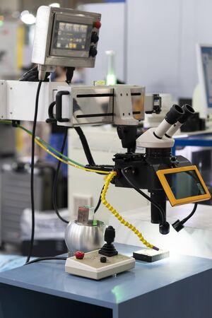 repair mold and die part by Laser welding machine
