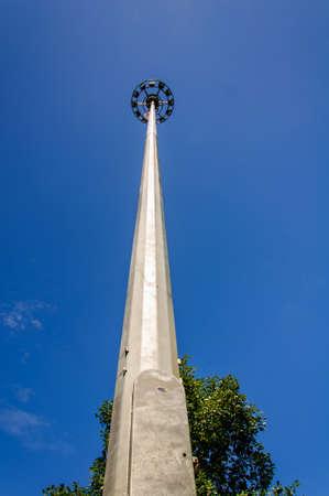 High light poles photo