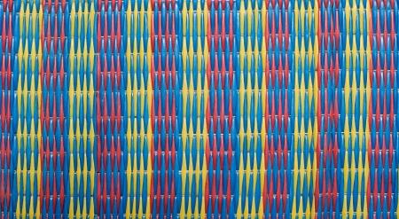 Imagen de blanco ca�a fondo del campo de la textura de la estera Foto de archivo - 14002054