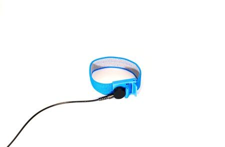 stretchy: The blue fabric wrist strap set, ESD