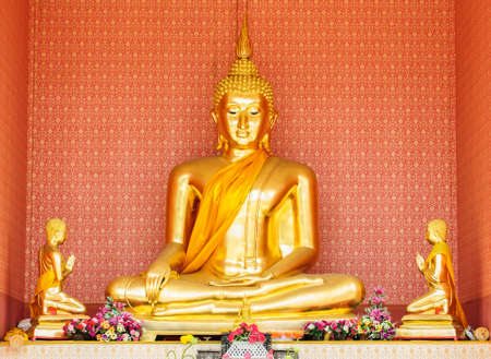 The buddha statue in a public place. Stock Photo - 14993252