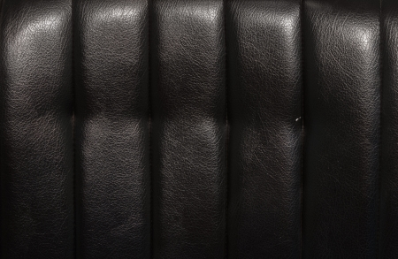Black leather for texture from car seats photo