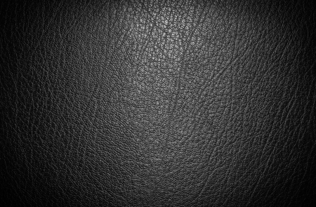 in black: Black leather for texture from car seats
